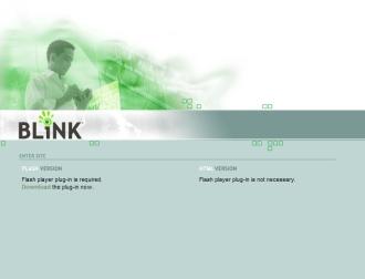 PLDT BLiNK splash page