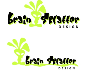Brain Splatter Logo Concepts