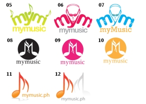 MyMusic Logo Concepts