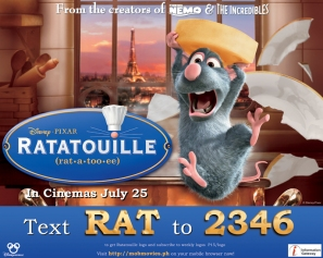 Ratatouille Billboard