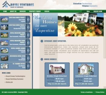 Royal Ventures website